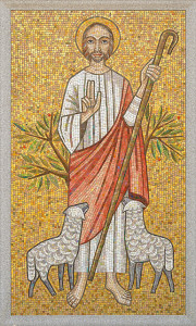 good shepherd mosaic